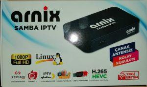 Arnix samba. ip tv destekleyen uydu alıcısıdır